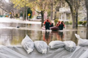 preparing for rising waters