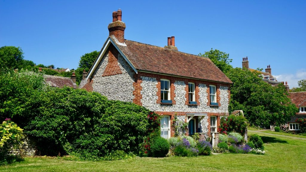 an old-fashioned home