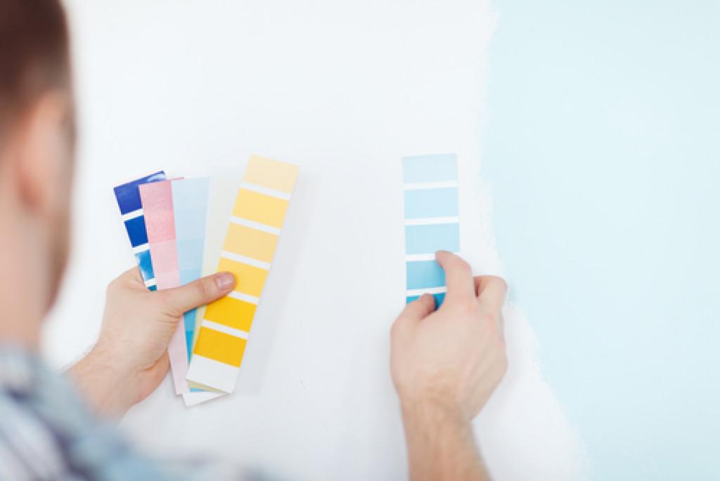 choosing a paint wall